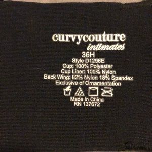 Curvy Couture Intimates & Sleepwear - Mesh Unlined Bra